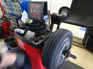 タイヤバランス測定